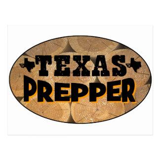 Texas Prepper Post Card