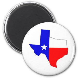 Texas Pride 2 Inch Round Magnet