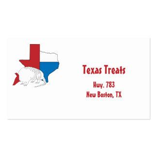 Texas Pride Armadillo Business Card