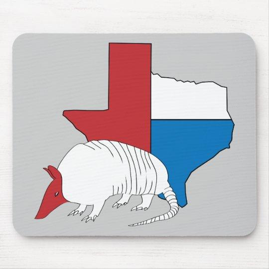Texas Pride Armadillo Mouse Pad