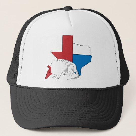 9875653f1a8 Texas Pride Armadillo Trucker Hat