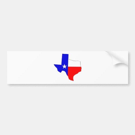 Texas Pride Bumper Sticker