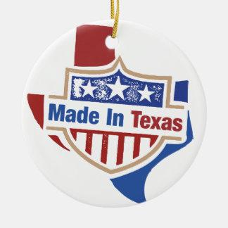 Texas Pride - Made In Texas Ceramic Ornament