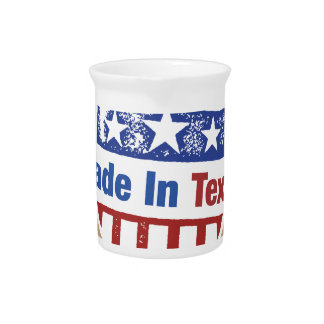 Texas Pride - Made In Texas Drink Pitcher