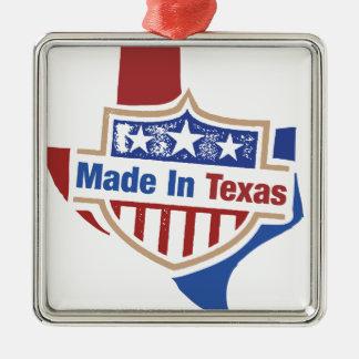 Texas Pride - Made In Texas Metal Ornament
