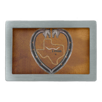 TEXAS PRIDE RECTANGULAR BELT BUCKLE