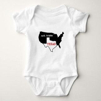 Texas Pride! Texas / Not Texas Baby Bodysuit