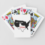 Texas Pride! Texas / Not Texas Bicycle Poker Deck