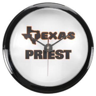 Texas Priest Fish Tank Clock