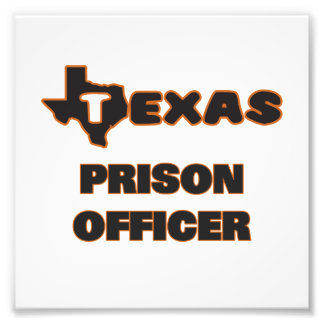 Texas Prison Officer Photo Print
