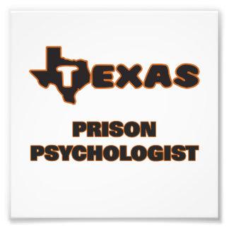 Texas Prison Psychologist Photo Print