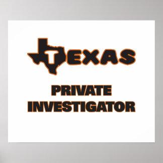 Texas Private Investigator Poster