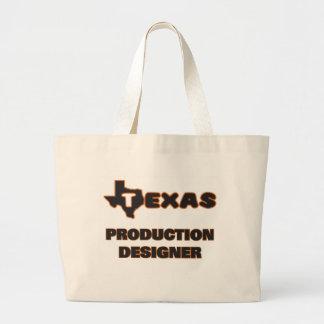 Texas Production Designer Jumbo Tote Bag