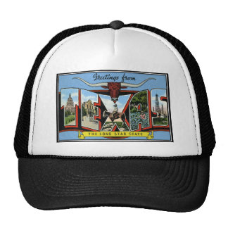 texas.Products Greetings from Texas Trucker Hat