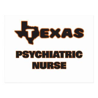 Texas Psychiatric Nurse Postcard