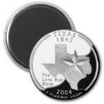 Texas Quarter Magnet