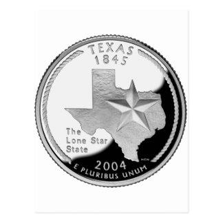 Texas Quarter Postcard