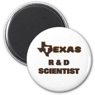Texas R & D Scientist 2 Inch Round Magnet