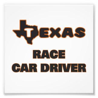 Texas Race Car Driver Photo Print