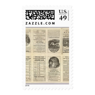 Texas Railroad 2 Stamps