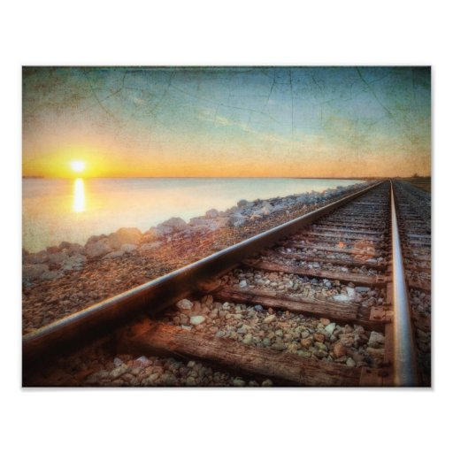 Texas Railroad Art Photo