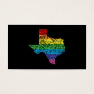texas rainbow business card