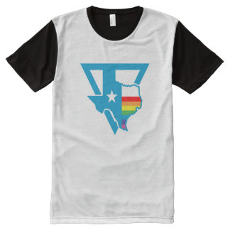 texas rainbow triangle All-Over-Print shirt