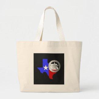Texas Ranger Badge Tea Party bag