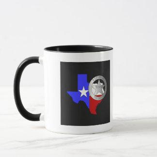 Texas Ranger Badge Tea Party Mug
