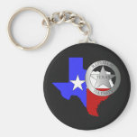 Texas Ranger Tea Party - Black Key Chains