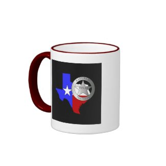 Texas Ranger Tea Party - Black mug
