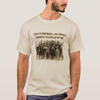 Texas Rangers Homeland Security Mens Shirt