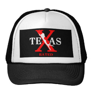 Texas Rated - X Rated Hats