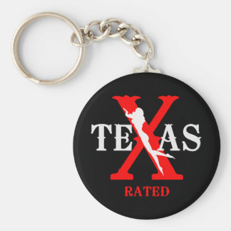 Texas Rated - X Rated Key Chains