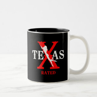Texas Rated - X Rated Coffee Mugs