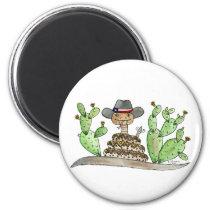 Texas Rattlesnake Magnet