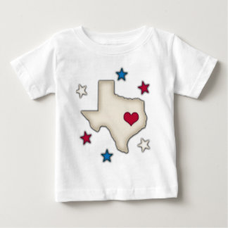 Texas Red Heart Tee Shirts