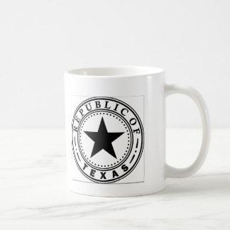 Texas (Republic of Texas Seal) Coffee Mug