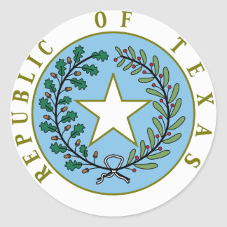 Texas (Republic of Texas Seal Color)