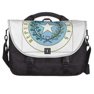 Texas (Republic of Texas Seal Color) Laptop Bags
