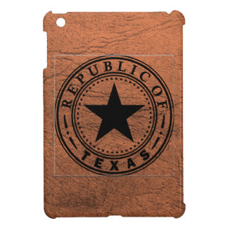 Texas (Republic of Texas Seal) Cover For The iPad Mini