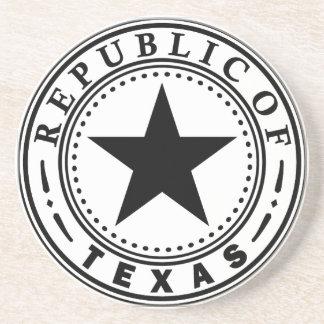 Texas (Republic of Texas Seal) Drink Coaster