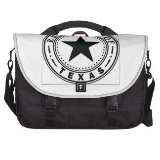 Texas (Republic of Texas Seal) Laptop Bag