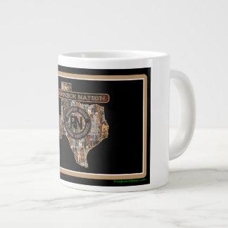TEXAS Rig Up Camo Giant Coffee Mug