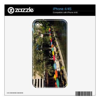 Texas, Riverwalk, dining on river's edge iPhone 4 Skins