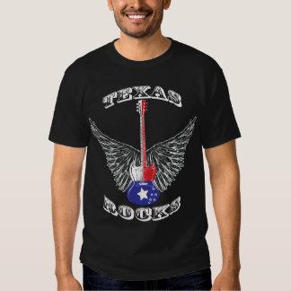 Texas Rocks Dark T-shirt
