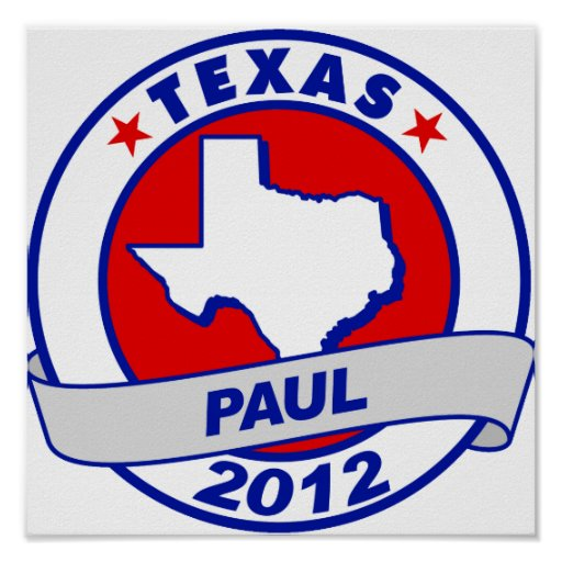 Texas Ron Paul Posters