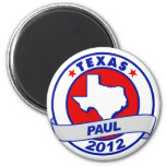 Texas Ron Paul Refrigerator Magnet