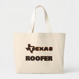 Texas Roofer Jumbo Tote Bag