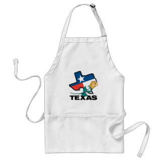 Texas Rose Adult Apron
